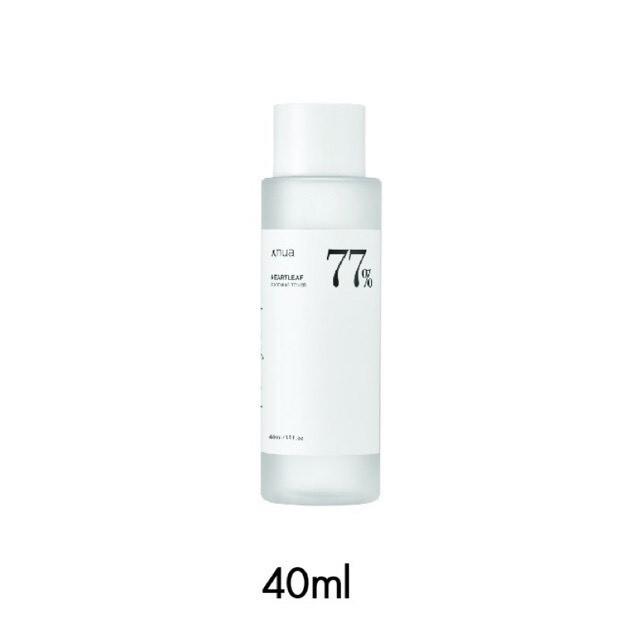 Anua Heartleaf Sooting Toner 77% 40 ml. (โทนเนอร์พี่จุนของแท้พร้อมส่ง)