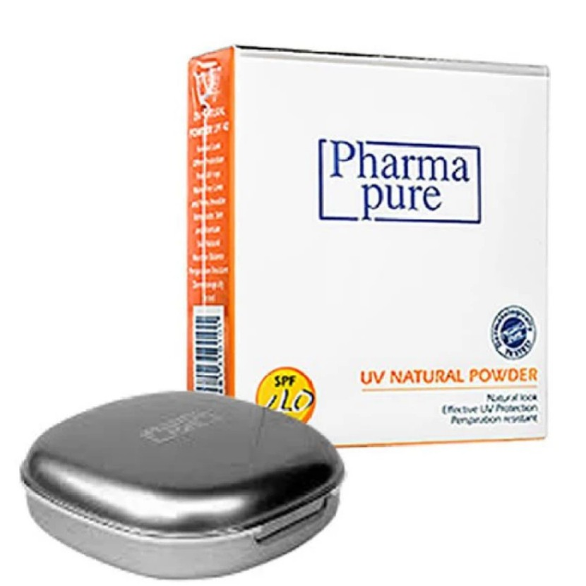 Pharmapure UV natural powder spf 40 12g exp 06/19