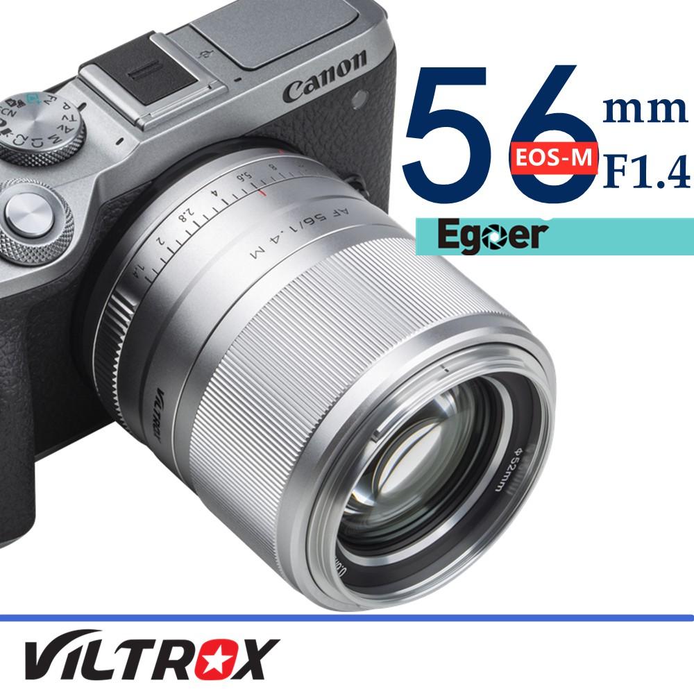 Viltrox 56mm F1.4 STM Auto Focus Aps - C Prime เลนส์สําหรับกล้อง Canon Eos - M10 M50 M100 M 5 M6 Markii