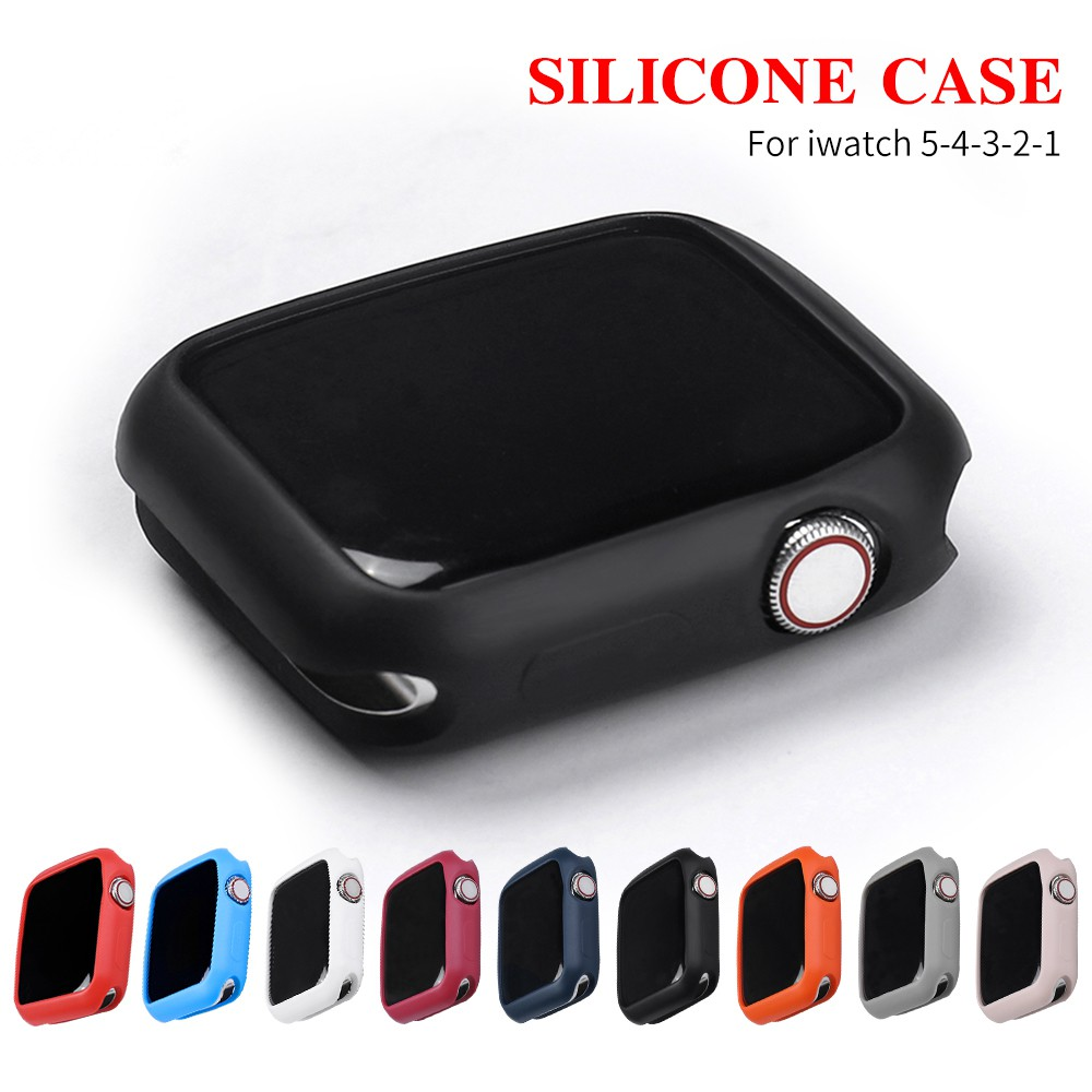 Apply to Apple Watch 6 SE 5 4 40MM 44MM ProBefit Candy Soft Silicone Case suitable for iWatch 3 2 1 42MM 38MM Cover Protection Shell