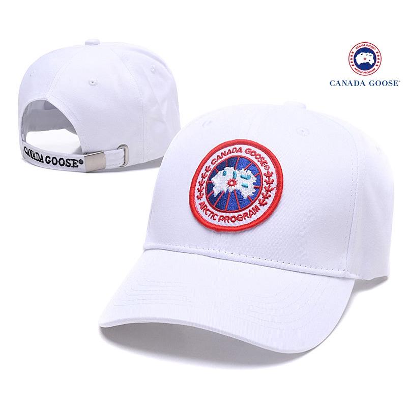 หมวก Snapback ลําลองกีฬาปักลาย Canada Goose