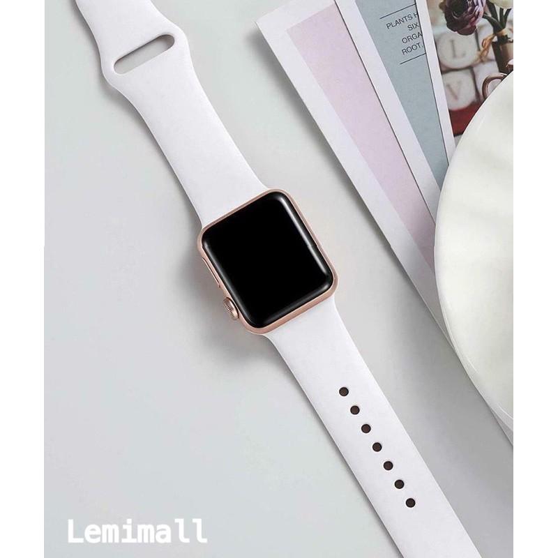พร้อมส่งในไทย สายสีมาใหม่ series 6 5 4 3 2 1 สำหรับ applewatch ขนาด  42mm 44mm 38mm 40mm mTP7