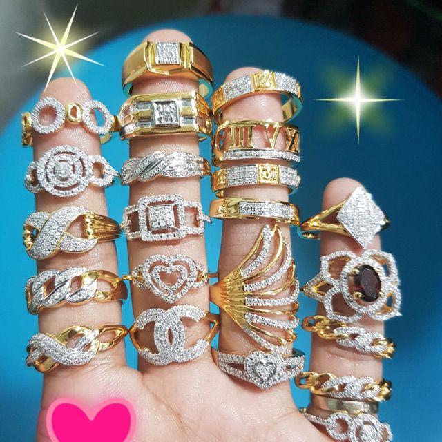 แหวนเพชรแท้ ทองแท้ 9kงานสั่งทำราคาถูก