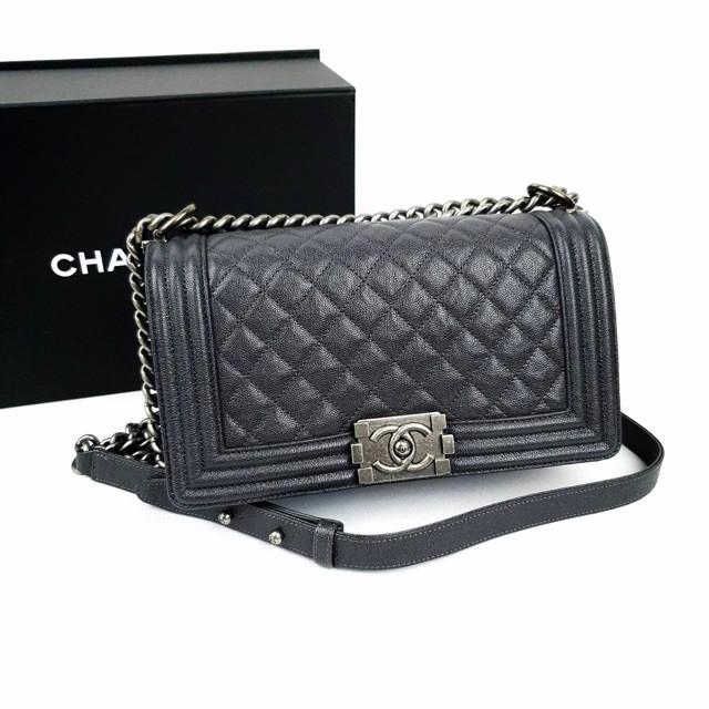 Chanel boy 10 caviar พร้อมส่ง ของแท้100%【การจัดซื้อ】