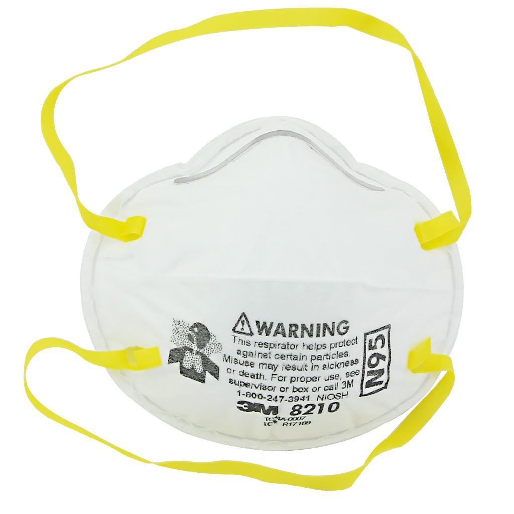 ✱♙✕3M 8210 N95 หน้ากากกันฝุ่นละออง PM 2.5   ส่งทุกวัน