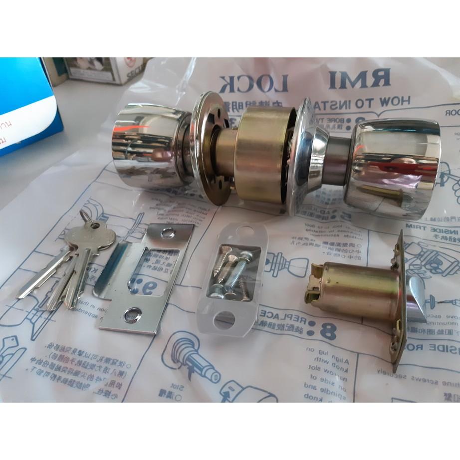 ลูกบิดประตูสแตนเลส Lockset - RMI 2000