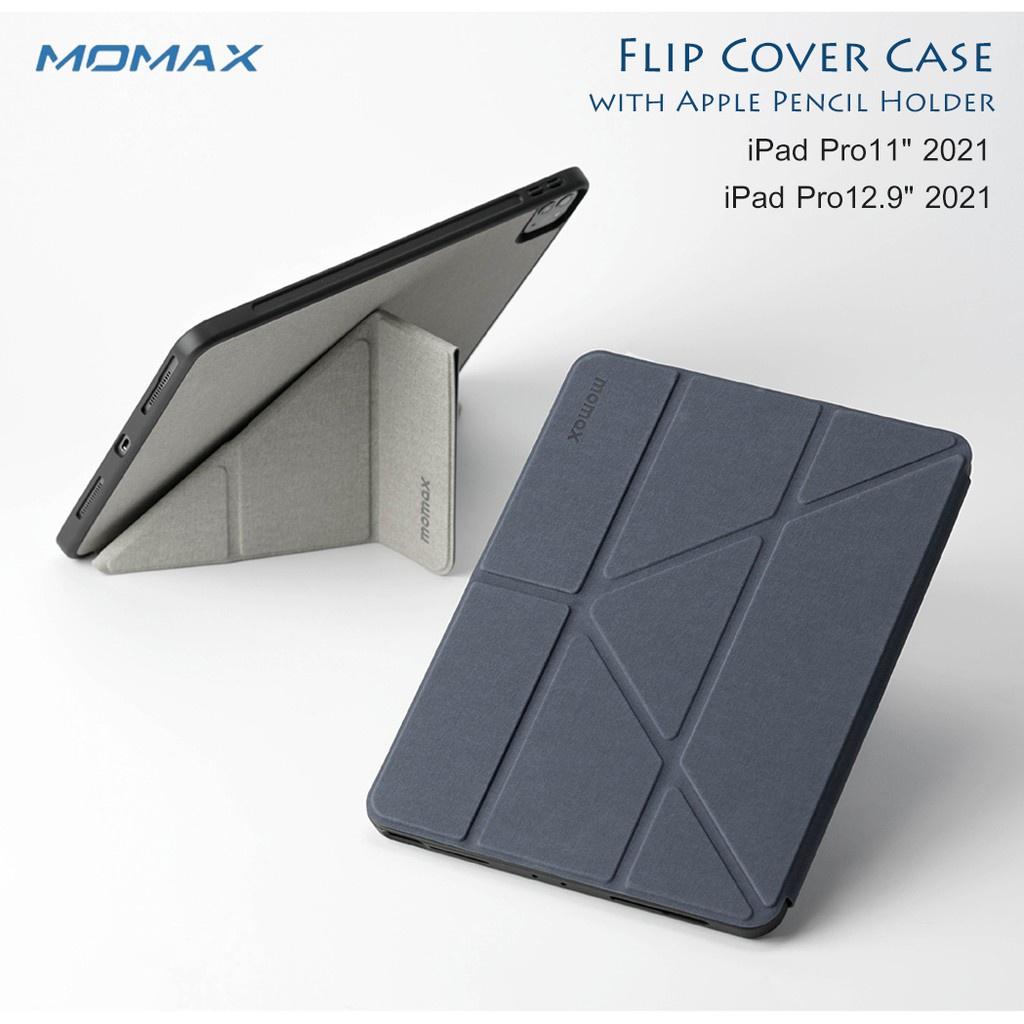 """โทรศัพท์มือถือ ✾Momax รุ่น Flip Cover Case with Apple Pencil Holder เคสกันกระแทก มีที่ใส่ปากกา ของแท้ Apple iPad Pro11""""2"""