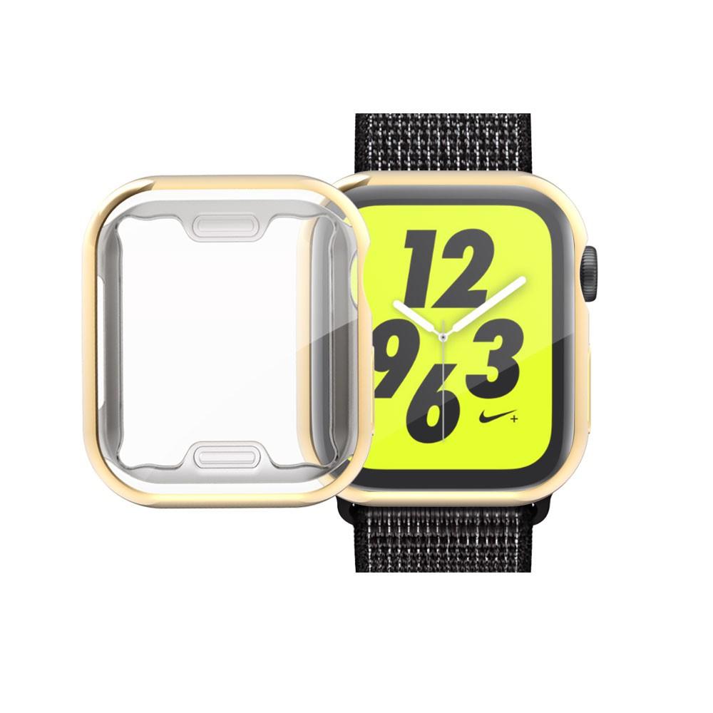 เคส TPU Watch case For Apple iWatch4/5 44mm、Apple iWatch 4/5 40mm、Apple iWatch 1/2/3 42mm、Apple iWatch 1/2/3 38mm เคสกันรอย คลุมรอบหน้าจอ  ดูกรณี  เคสซีลีโคนเปิดหน้าจอ ซีลีโคนนิ่ม