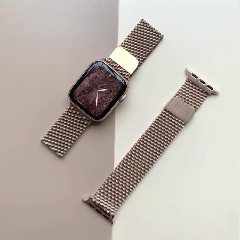 สาย applewatch แท้ สาย applewatch ถูกที่สุด!!! สายนาฬิกาข้อมือ รุ่น Apple Watch 38 40 42 44 มิลลิเมตร สาย Apple Watch สา