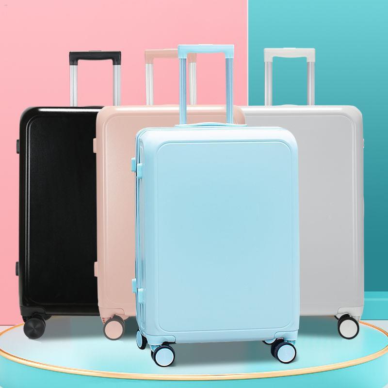 ✒☇✤รถเข็นขนาดเล็กกระเป๋าเดินทางชาย 24 นิ้วกระเป๋าเดินทาง 28 นิ้วกระเป๋าเดินทางรหัสผ่านกระเป๋าเดินทาง 20 นิ้ว