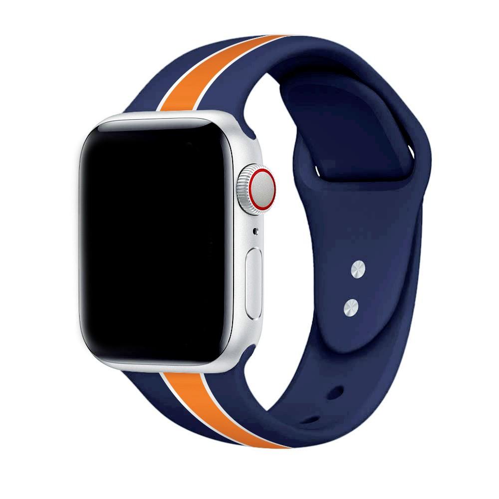 สาย Apple Watch Sport Band สายซิลิโคน สำหรับ applewatch 38มม 40มม 42มม 44มม Series SE 6/5/4/3/2/1