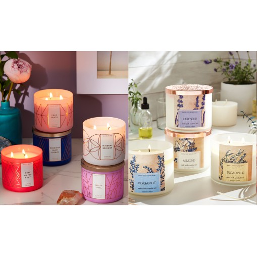 Candle 3 Wick Bath&BodyWorks แท้💯%
