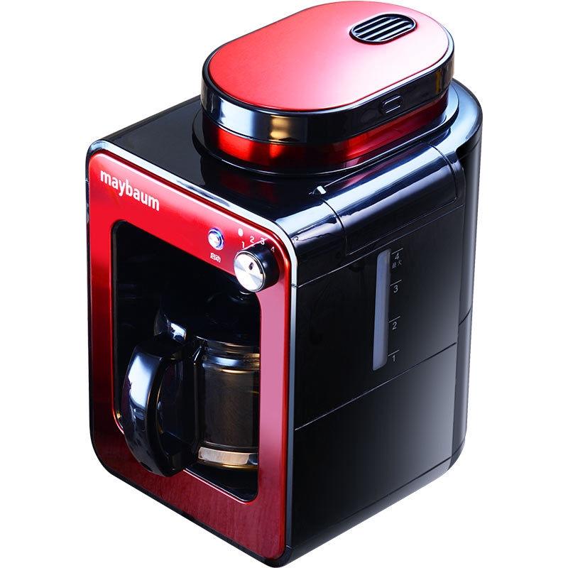 เครื่องทำกาแฟเยอรมัน maybaum พฤษภาคมต้นไม้ในครัวเรือนขนาดเล็กอัตโนมัติเครื่องบดกาแฟสดแบบบูรณาการมินิ 4 ถ้วย