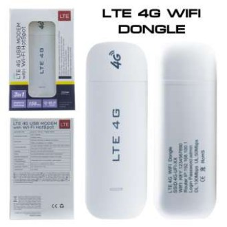 AIRCARD LTE 4G/3G USB Modem with Wi-Fi Hotspot 3in1