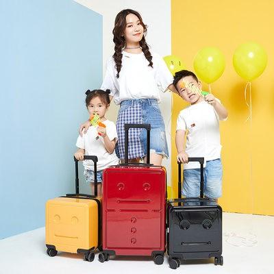 ℉♖ กล่องสัมภาระ เด็กที่มีสกู๊ตเตอร์ กล่องขึ้นเครื่องกระเป๋าเดินทางใบเล็กสำหรับเด็กขนาด16นิ้วของผู้หญิงกระเป๋าเดินทางรถเข