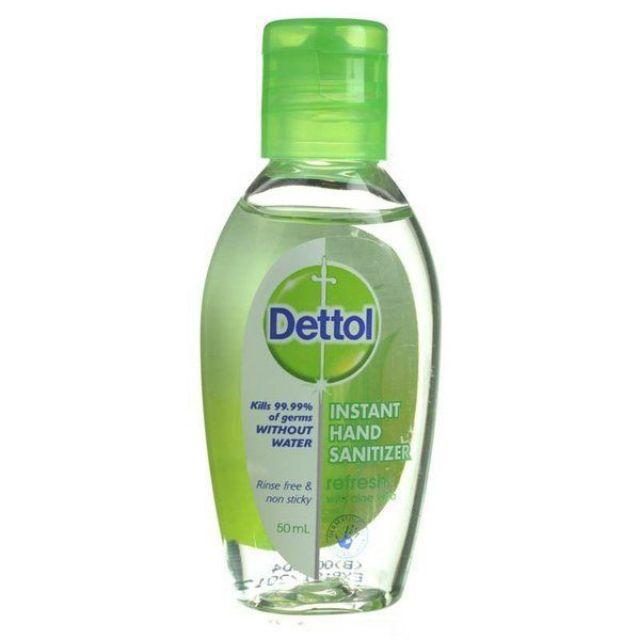 เจลล้างมือ Dettol ฆ่าเชื้อโรคได้99.99%