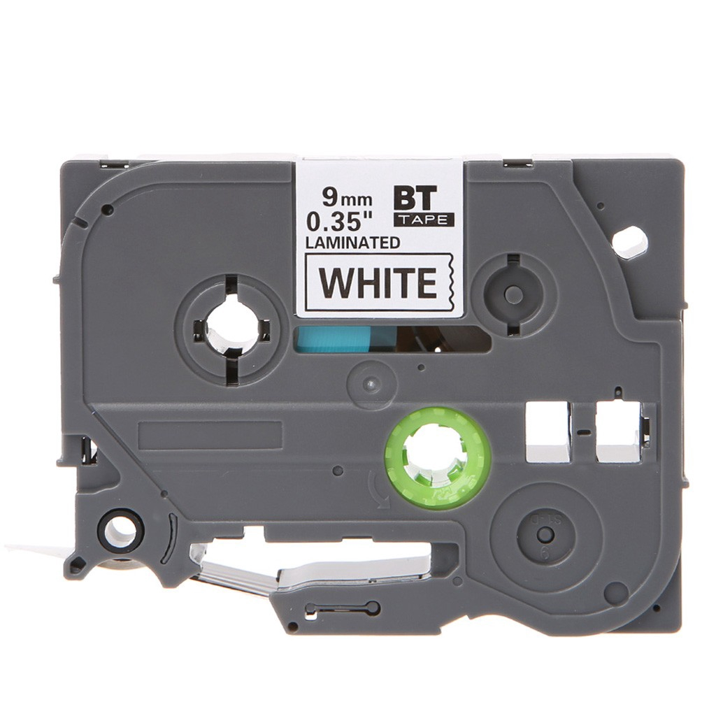 """4PK TZe231 TZ231 Black on White Label Tape For Brother P-Touch PT-7600 12mm 1//2/"""""""