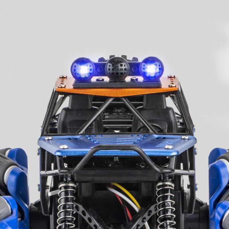 applewatch series 6●ของเล่นรถบังคับ รถปีนเขา ล้อใหญ่ ขับเคลื่อนด้วย4ล้อ พร้อมรีโมท นาฬิการีโมท เดินขวางได้ สไลด์ข้างได้