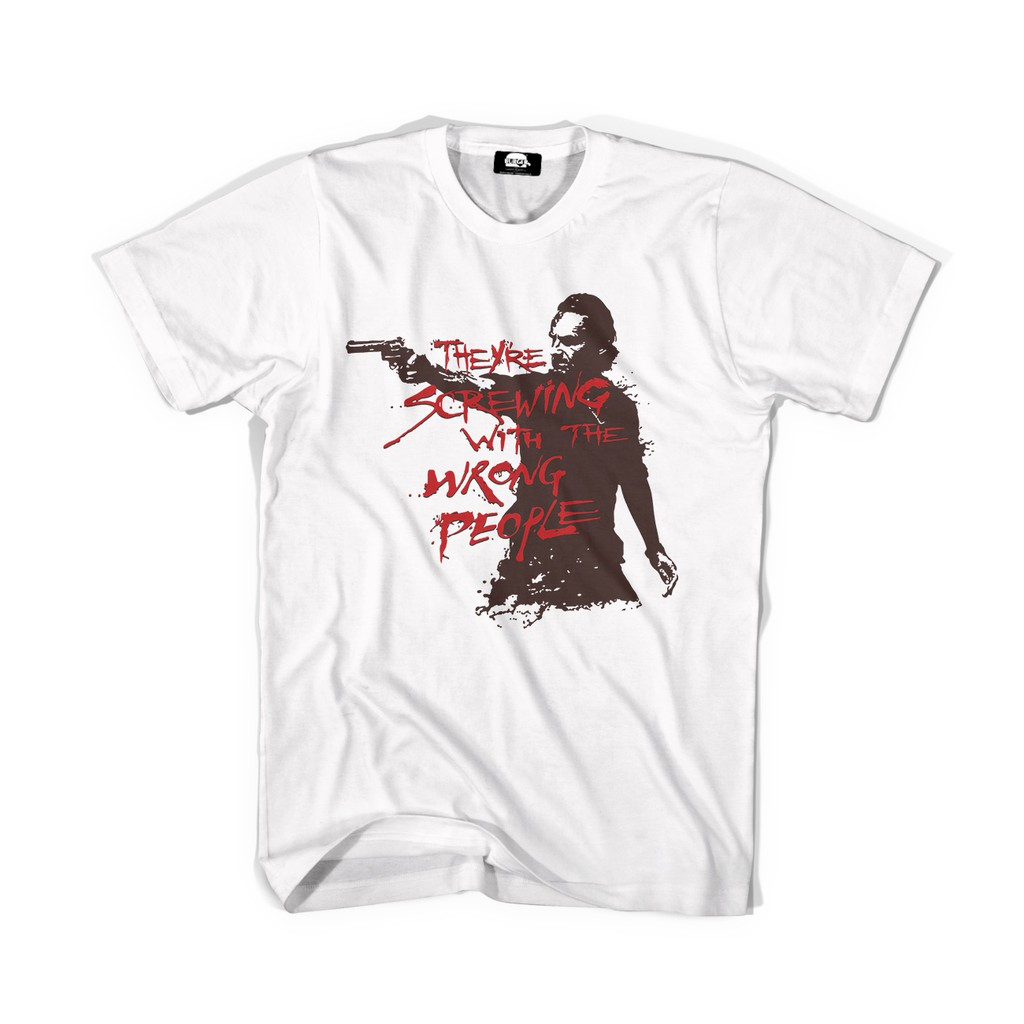 เสื้อยืดคอกลม Walking Dead Tv Show T Shirt  #32