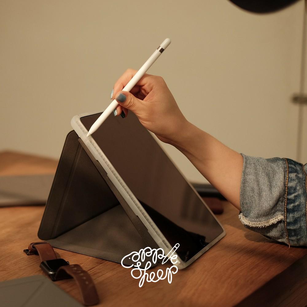 """✨ ✨ 🌻✎Sheep Origami เคส iPad 9.7"""" Gen6 2018 เคสไอแพดคุณภาพดีที่สุดจาก AppleSheep มีที่เก็บปากกา Apple Pencil พร้อมส่งจ"""