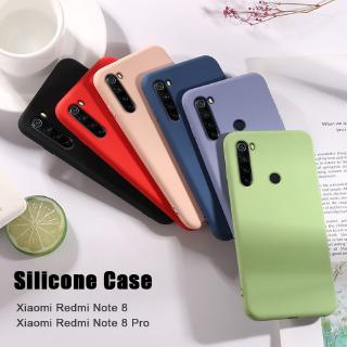 Review Original Casing Xiaomi Redmi Note 8 Case Redmi Note 8 Pro 8A Liquid Silicone Soft Cover
