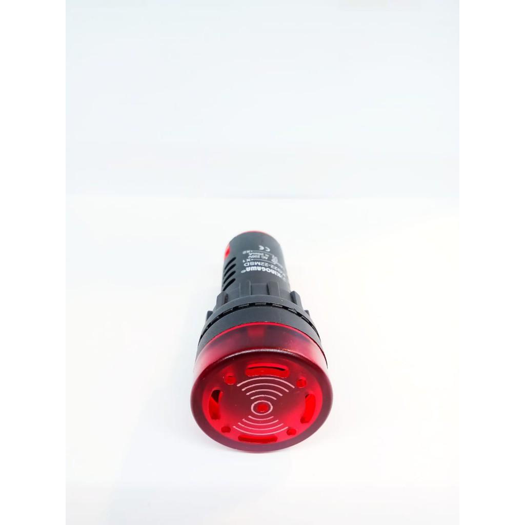 22มม. Kg22-22sm 220v Led Buzzer ไฟ Led สําหรับติดรถยนต์
