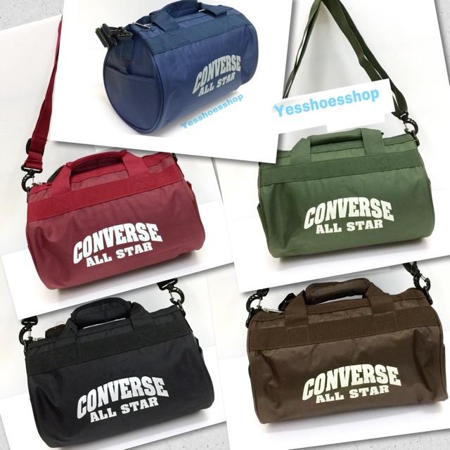 7930511052 Converse รุ่นSport Logo Mini Bag (60398) กระเป๋าสะพายข้าง  สินค้าลิขสิทธิ์แท้ ไม่แท้คืนเงินให้10เท่าของราคาสินค้า