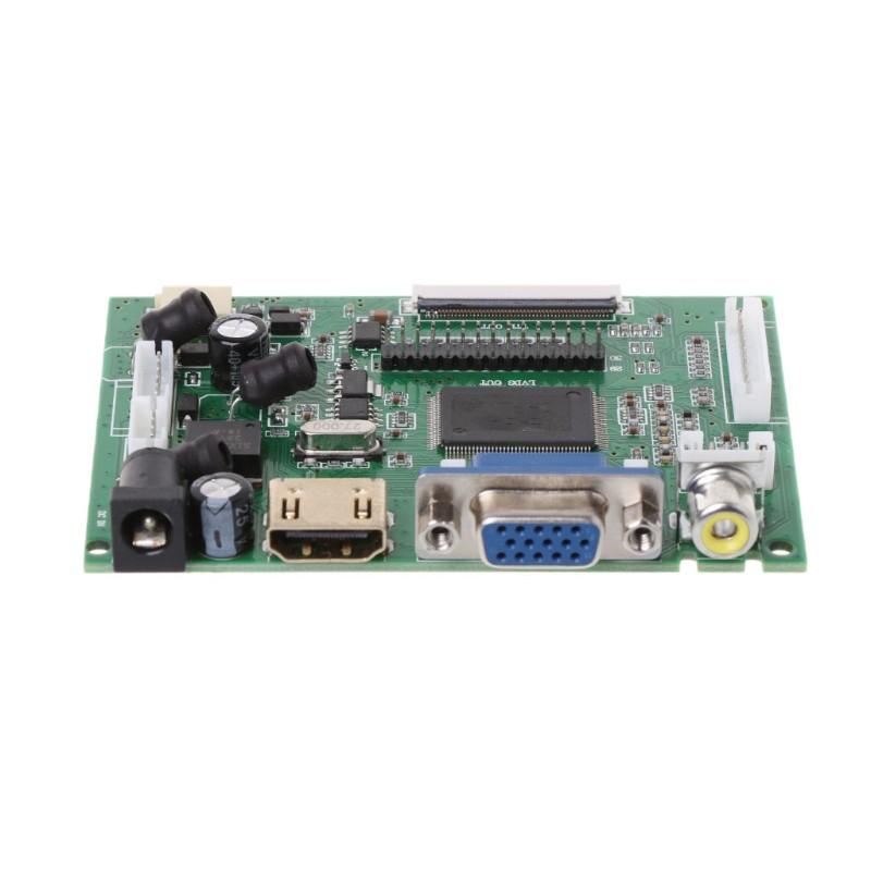 """7"""" Vehicle display AT070TN92 panel HDMI VGA 2AV 50PIN TTL LCD Controller Board"""