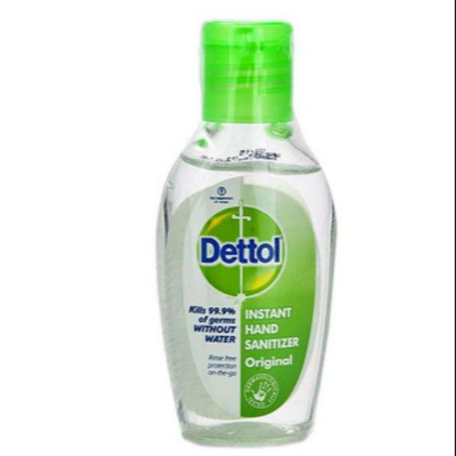 เจลล้างมือ dettol //50ml.