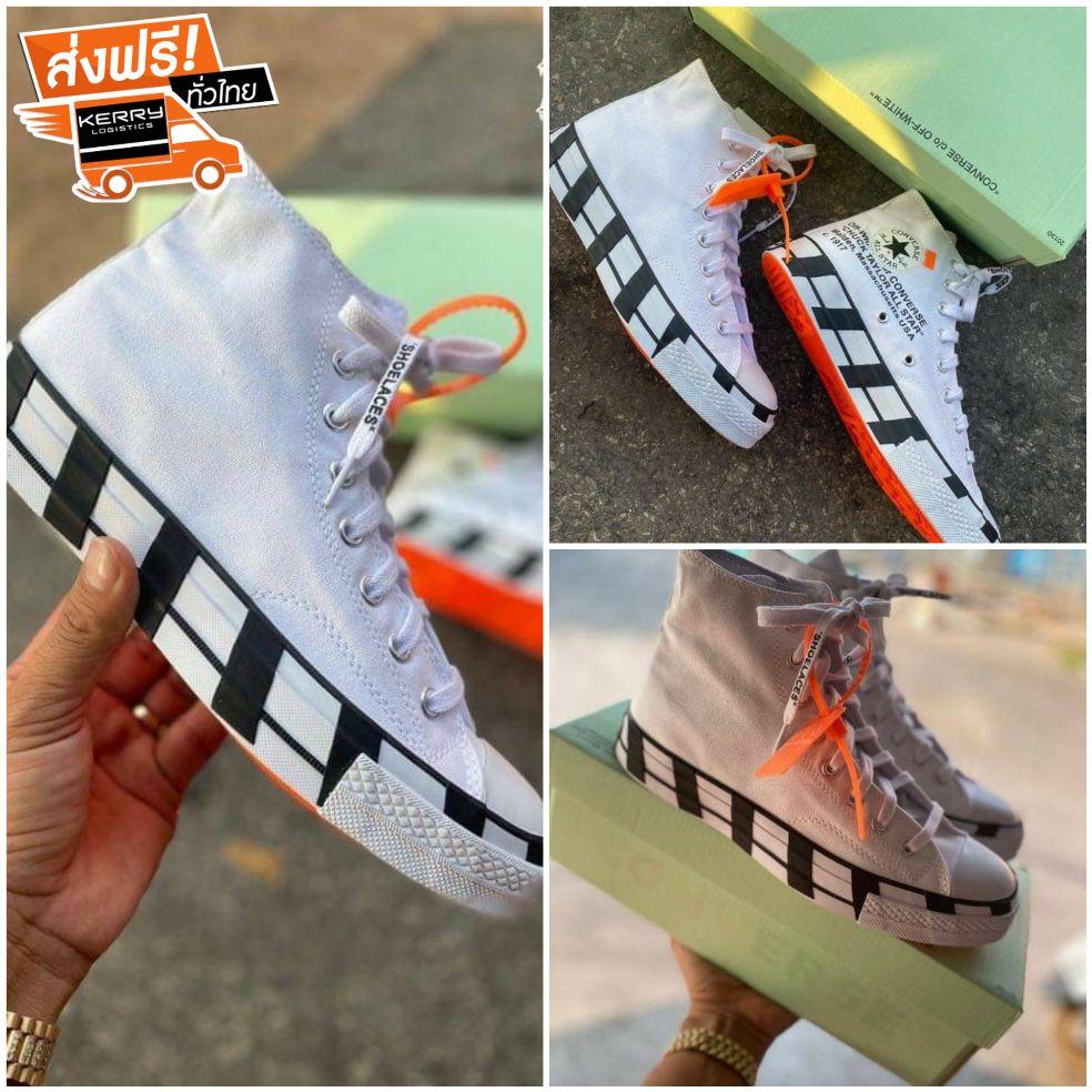 รองเท้าผ้าใบ Converse Chuck Taylor All-Star 70s Hi Off-WhiteSize36-45 สินค้าพร้อมกล่อง อุปกรณ์ครบ Pwr4