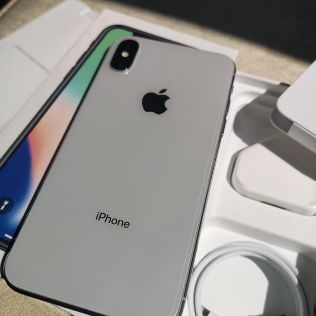 เครื่องแท้ 100%  Apple iPhone  X   เครื่องใช้แล้ว 64G/ 256GB