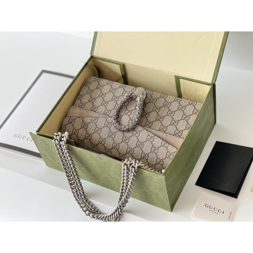 🔥 Gucci handbags classic Dionysus chain bag shoulder messenger bag
