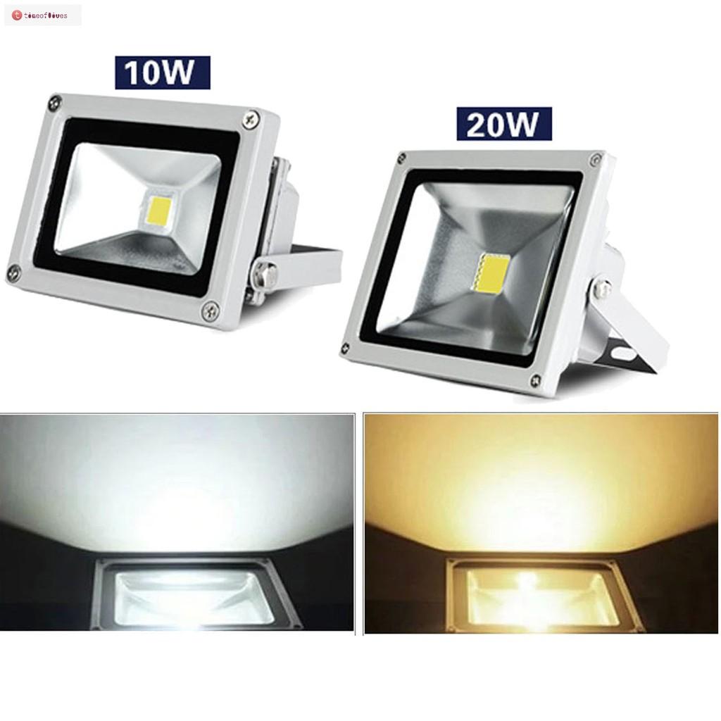 4 x 20W 12V LED Flood Light Cool White Outdoor Garden Yard Spot Lamp Waterproof