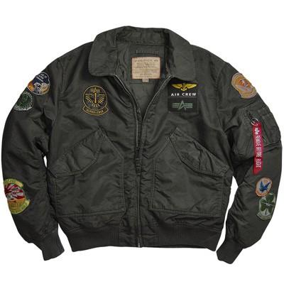 Jacket alpha CWU 45-P PILOT X FLIGHT PATCH