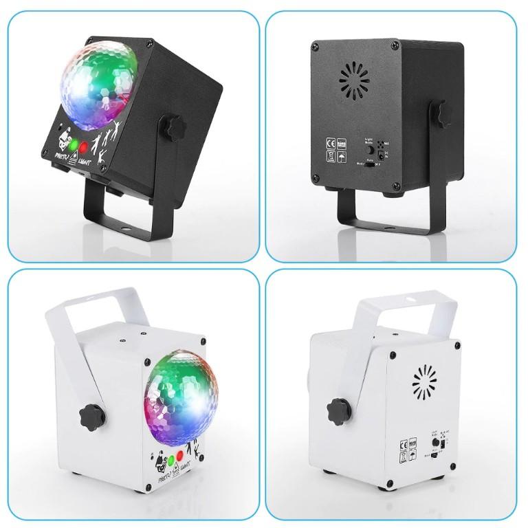 ไฟเลเซอร์ผับ เลเซอร์โปรเจคเตอร์ลวดลาย REMOTE/เสียงดิสโก้ไฟเลเซอร์โปรเจคเตอร์ RGB ไฟปาร์ตี้