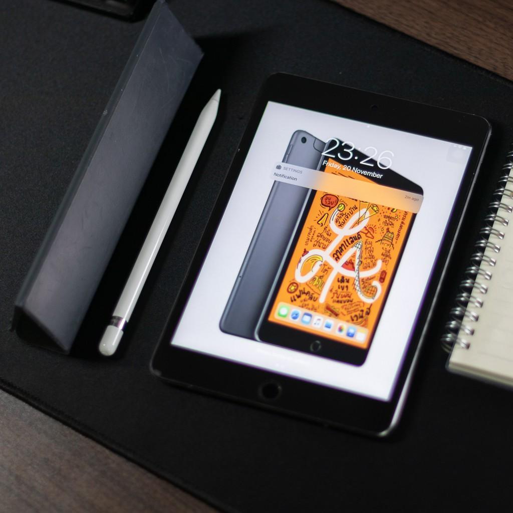 iPad mini5 มือสอง กับ Apple Pencil1 มือสอง สภาพดี   ไอแพดมินิฟรีเคสappleกับปากกาไอแพด   ไว้ใจได้ครับ   ส่งเร็ว