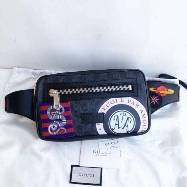 New Gucci Soft GG Supreme belt bag