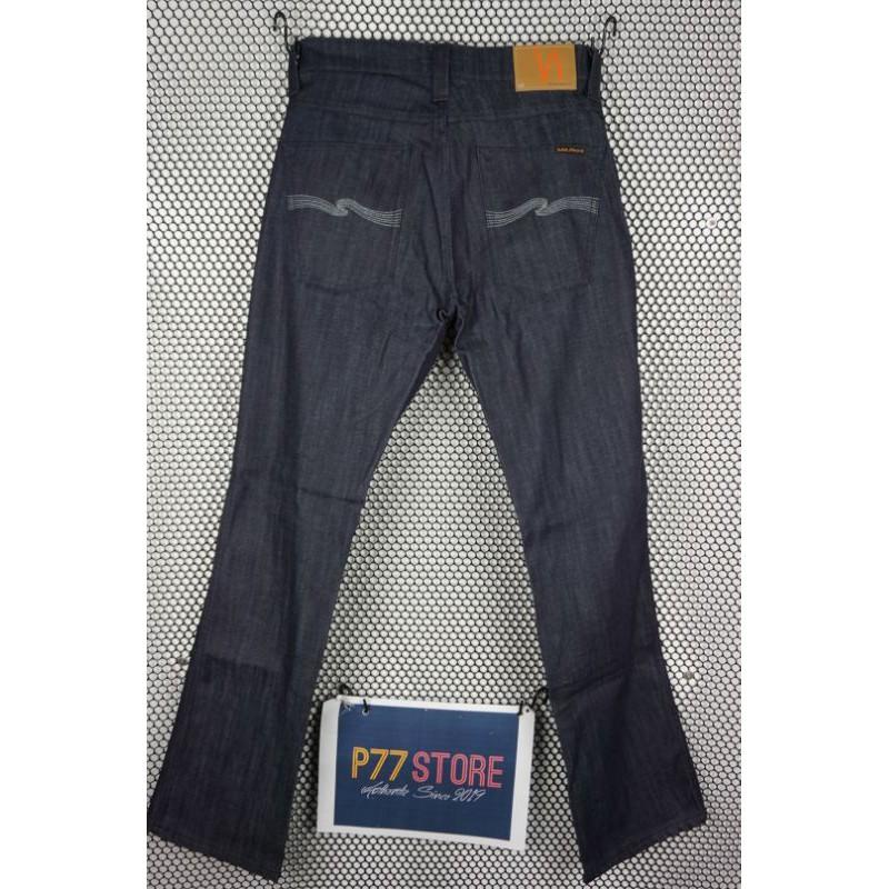 Nudie Slim Jim Dry Grey Embo size33/32