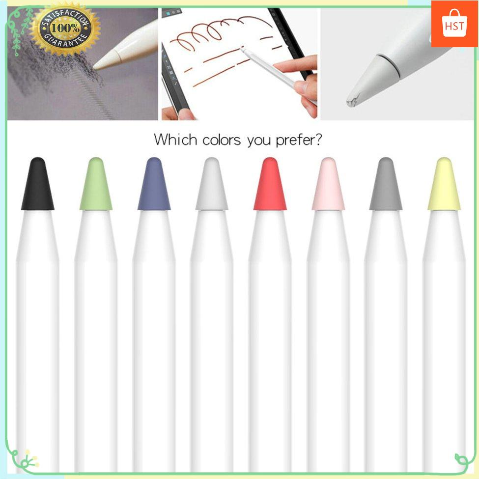 ✨HTSL16✨ Silicone Pen Tip Protective Cover For Apple Pencil 1/2 Simple Installation