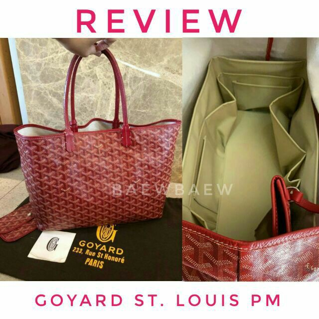 กระเป๋าเดินทางล้อลาก Luggage ที่จัดระเบียบกระเป๋า Goyard St. Louis pm กระเป๋าล้อลาก กระเป๋าเดินทางล้อลาก