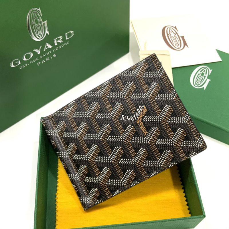 New Goyard Money Clip Wallet