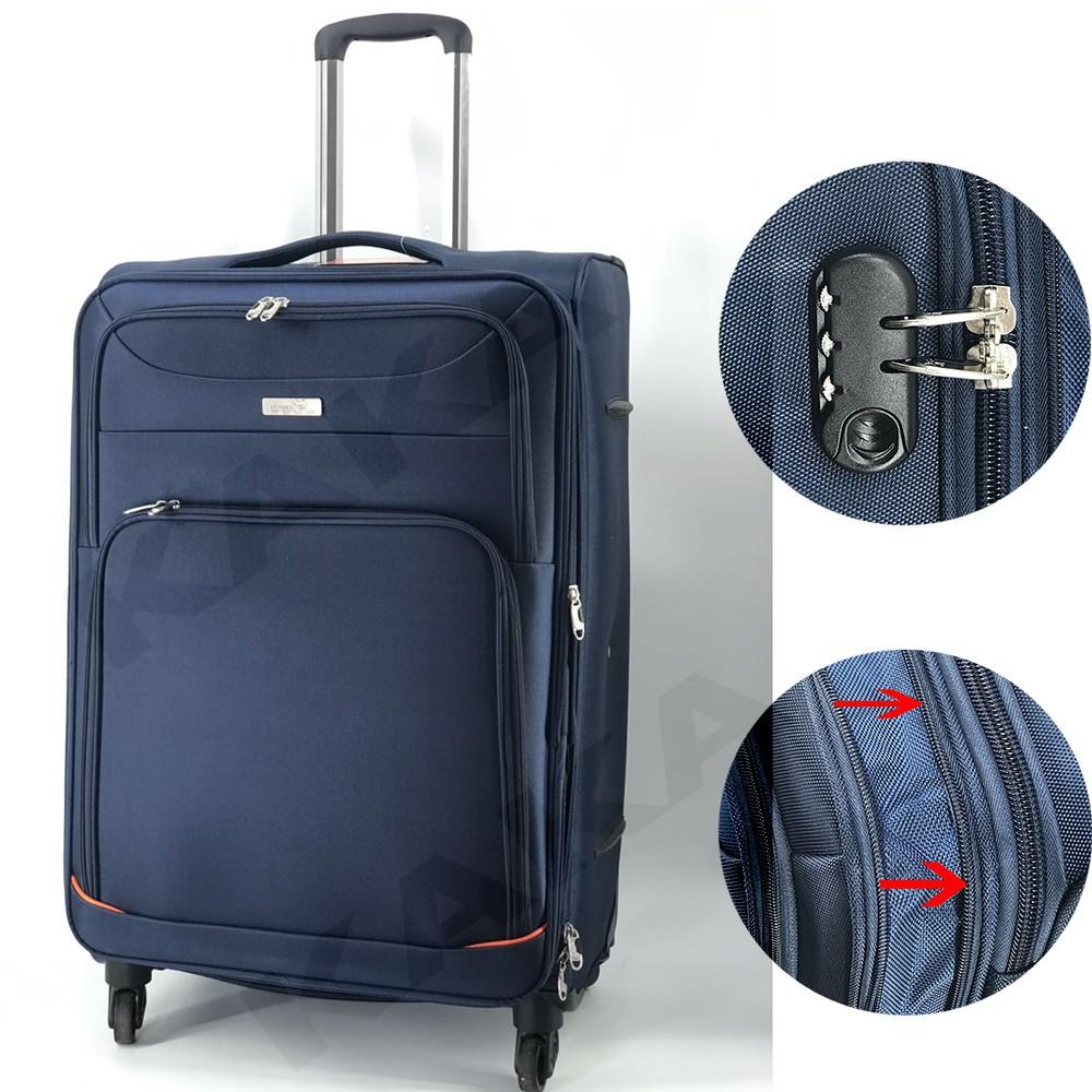 กระเป๋าเดินทาง กระเป๋าเดินทางล้อลาก PRINCE POLO  รุ่น PRINCE POLO ขนาด 28 นิ้ว W14/28 TSA กระเป๋าล้อลาก กระเป๋าเดินทาง