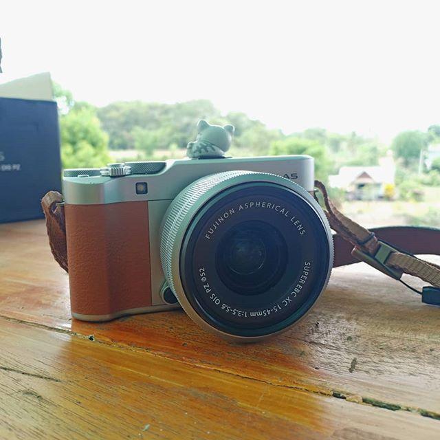 กล้อง Fuji XA-5 มือสองพร้อมอุปกรณ์