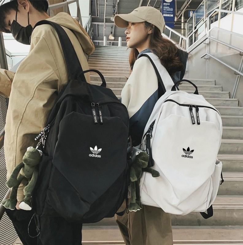 — AdidasClover Backpack Travel Bag Fitness Men and Women Backpack Shoulder Bag Car Bag rTPq