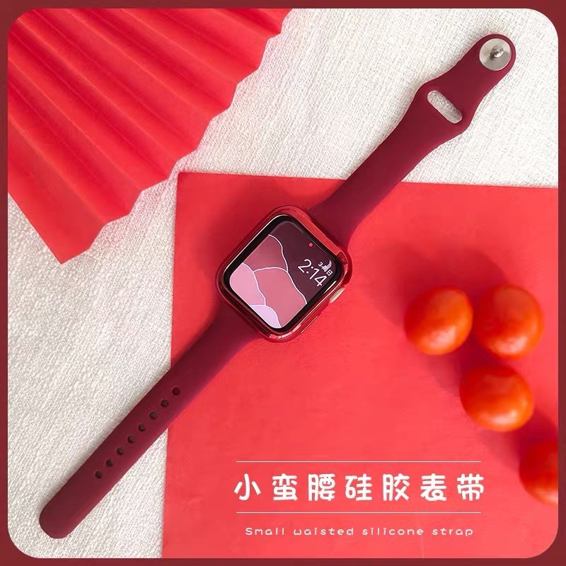 *READY STOCK* พร้อมส่ง‼️สายสำหรับ AppleWatch สีมาใหม่ series 6 5 4 3 2 1 สำหรับ applewatch ขนาด  42mm 44mm 38mm 40mm