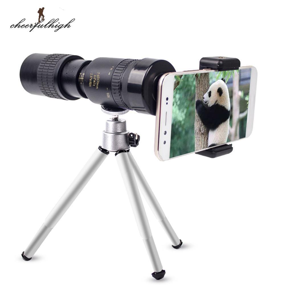 10x25 Portable Monocular Telescope Handy Eyepiece Lens Camping Hunting