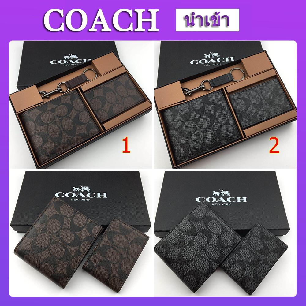 coach F74993 กระเป๋าสตางค์ กระเป๋าสตางค์ใบสั้น กระเป๋าสตางค์ กระเป๋าสตางค์ forever