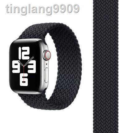 สายนาฬิกาข้อมือสายถักสําหรับ Applewatch 5 6/ Se