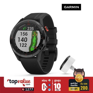 Review Garmin Smartwatch รุ่น Approach S62 - Black Ceramic & Silicone Band & CT10 รับประกัน 1 ปี