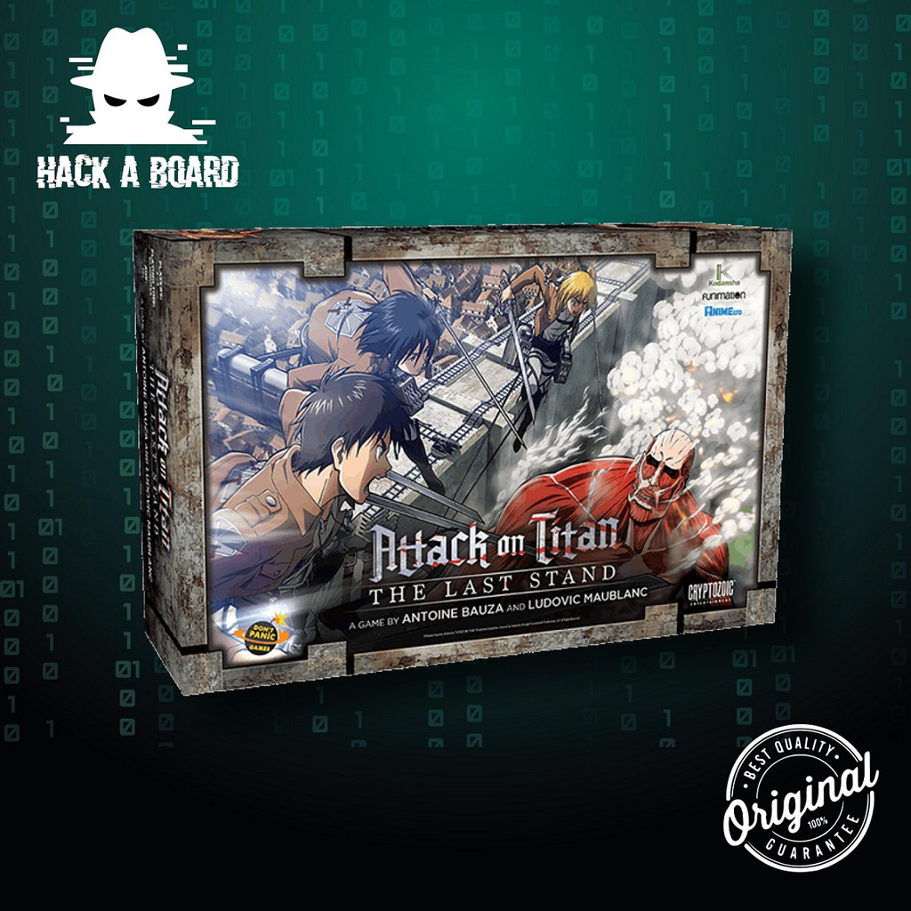 Attack on Titan: The Last Stand [Board Game] [ของแท้ 100%]